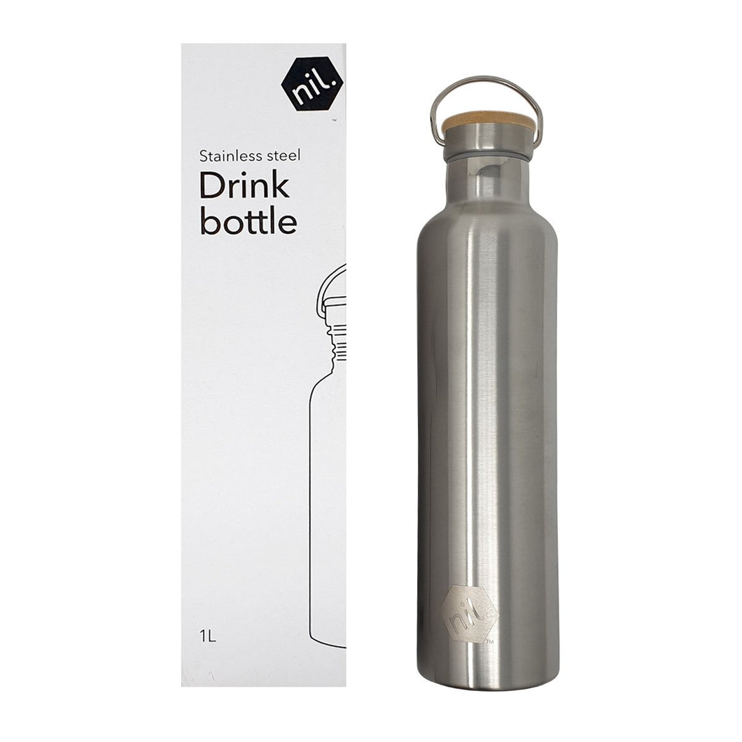 NIL Stainless Steel Drink Bottle 1L