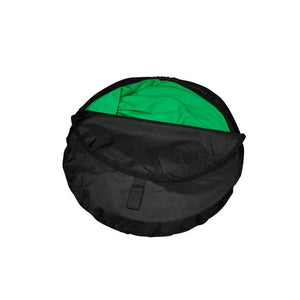 pop up green screen in bag