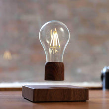 Load image into Gallery viewer, Levitating lightbulb