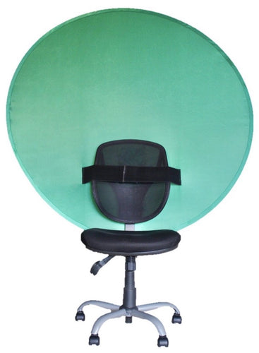 Green screen chair mount