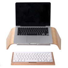 Load image into Gallery viewer, Macbook stand wood