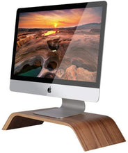 Load image into Gallery viewer, Hardwood Monitor Stand