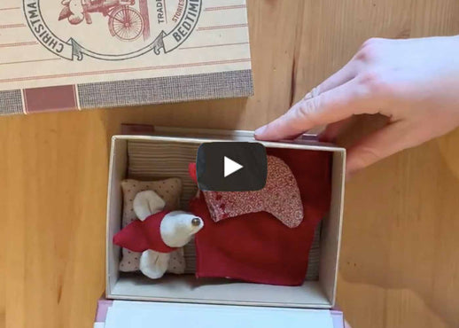 Maileg Christmas Mouse in a Book - Video Review