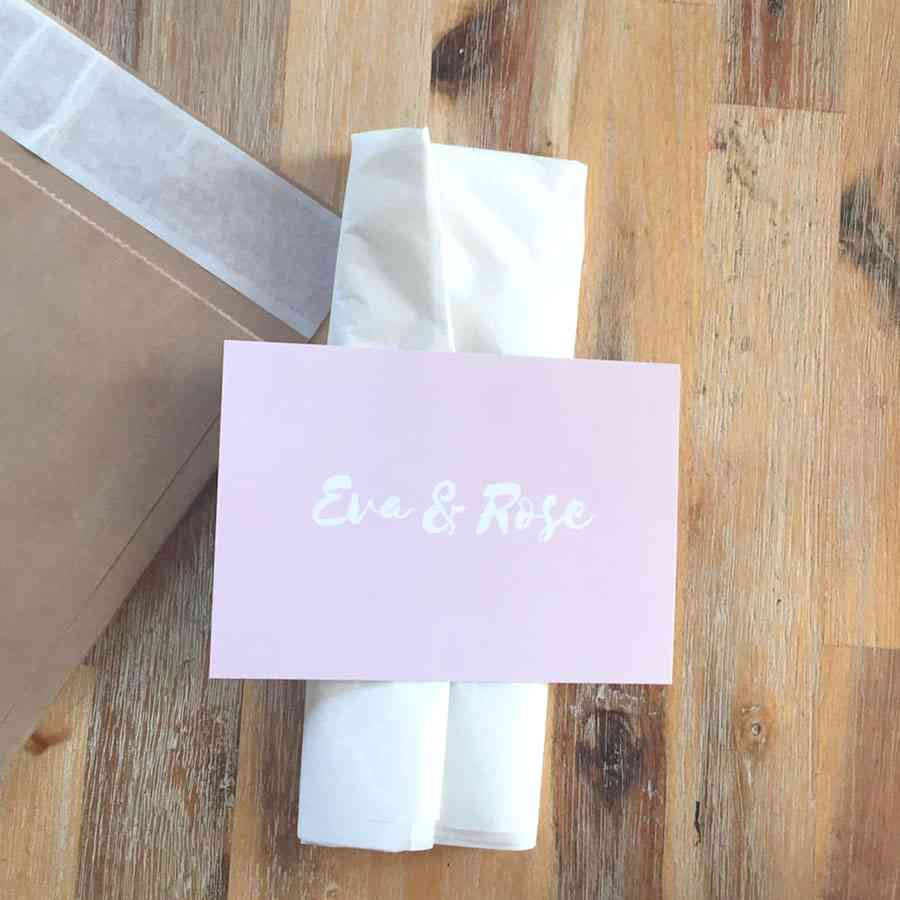 Eco Friendly Packaging for Post - Eva & Rose