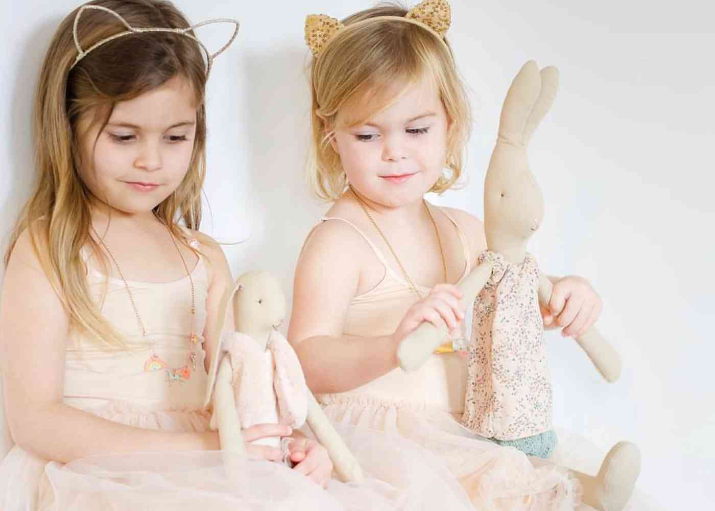 maileg mouse bunny eva and rose