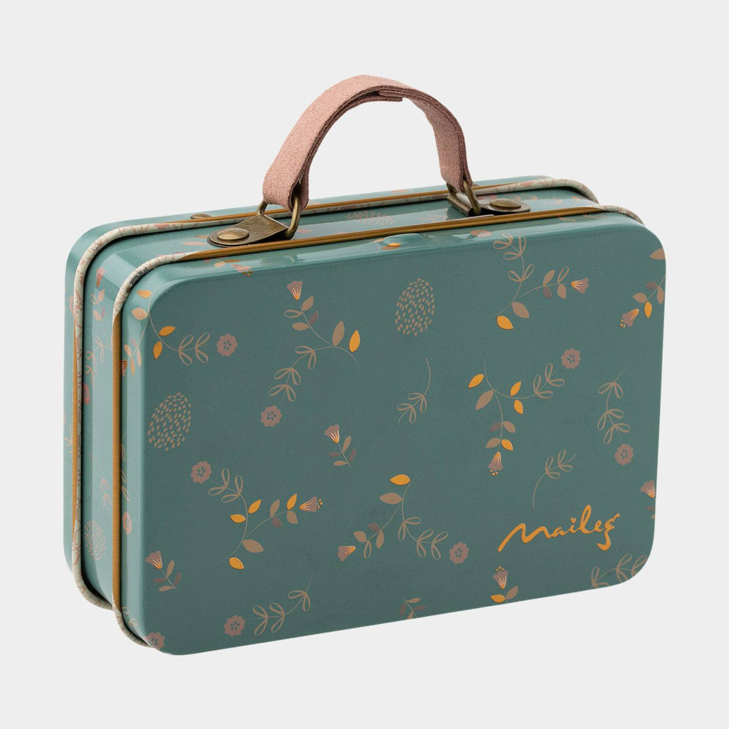 Maileg Mouse, Metal Suitcase, Elia