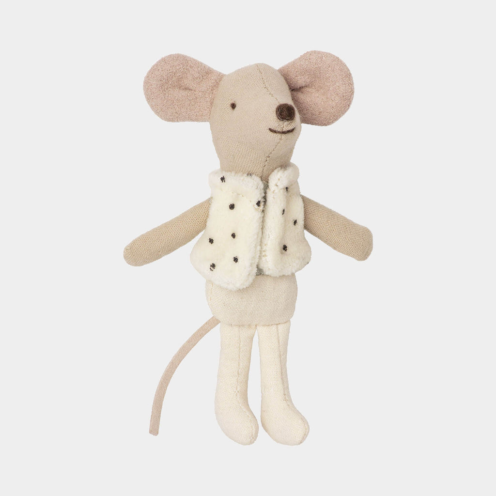maileg little brother dance mouse in matchbox