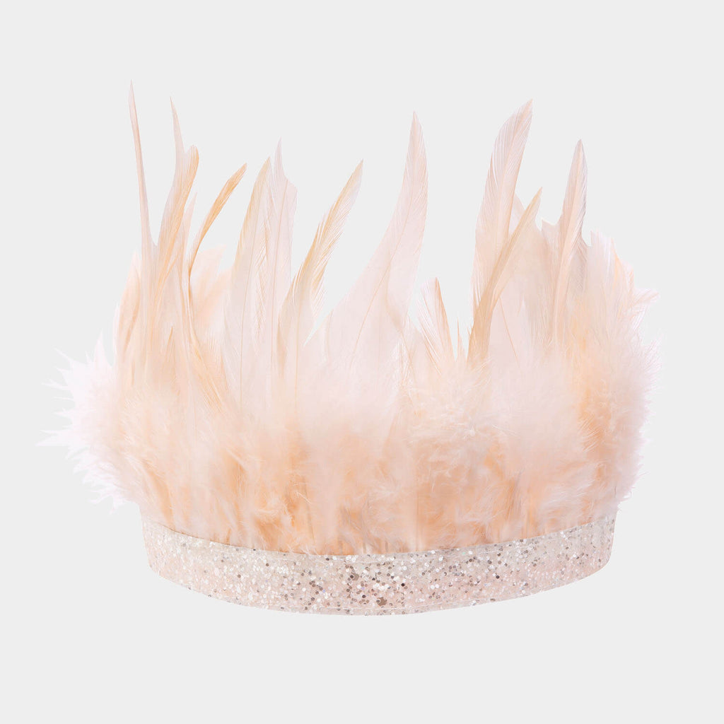 Meri Meri - Pink Feather Party Crown