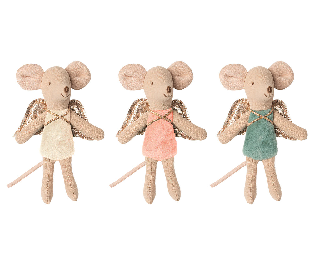 Maileg Fairy Mouse - 3 assorted colours