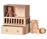 Maileg Baby room with micro bunny