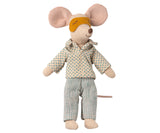 Maileg Mouse, Pyjamas for Dad Mouse