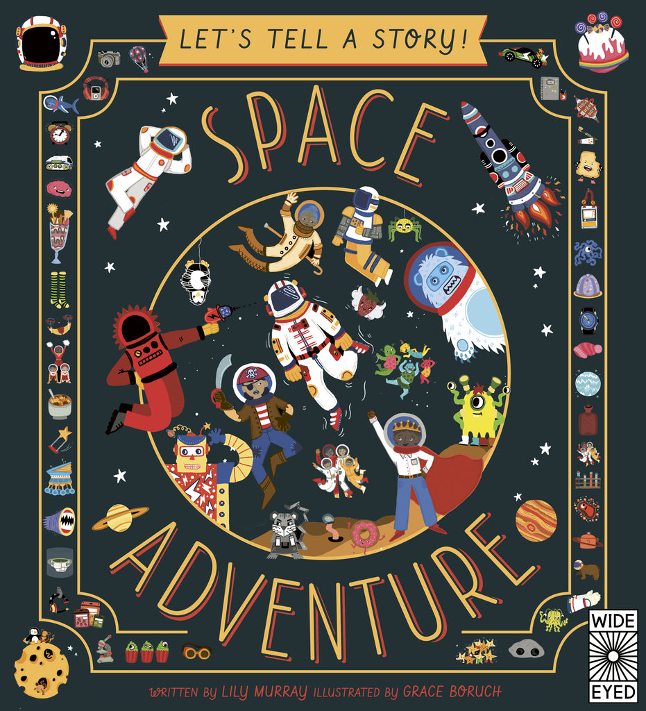 Let's tell a story - Space Adventure