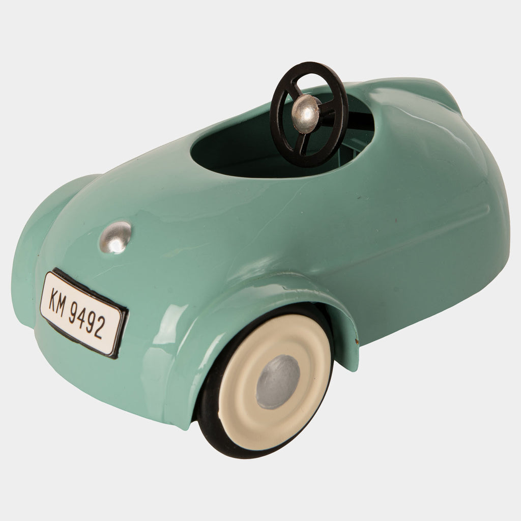 Maileg Mouse car w. garage - Blue