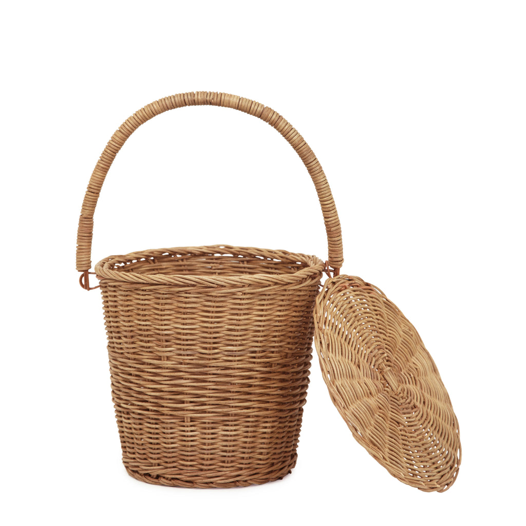Olli Ella Rattan Apple Basket - Large