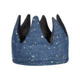 Mimi & Lula - Super Soft Velvet Crown Grey/Blue