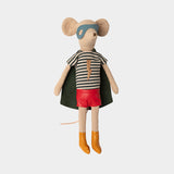 Maileg Super hero mouse, Medium - Boy