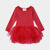 I Love Plum B.F.F. Tutu Dress - Rosie Red