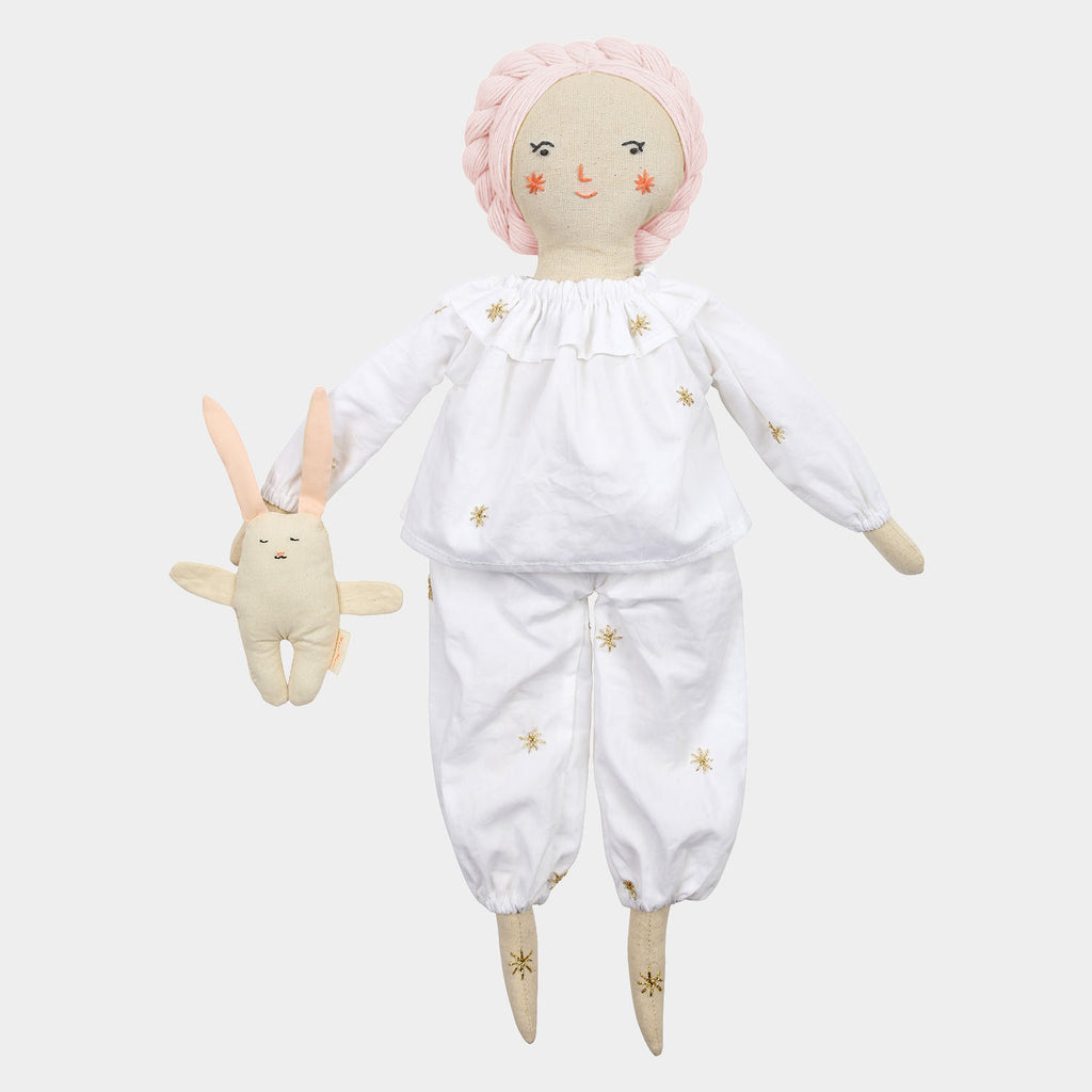 Meri Meri - Pajamas & Bunny Dolly Dress-Up Kit