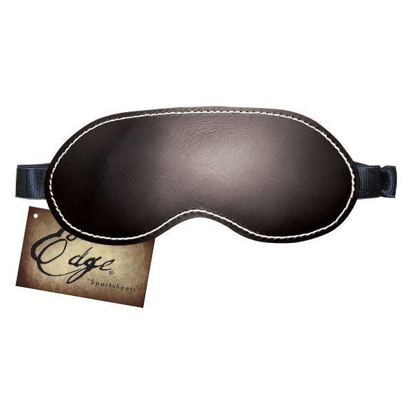 Edge Leather Blindfold Sportsheets 830291 - skintantric