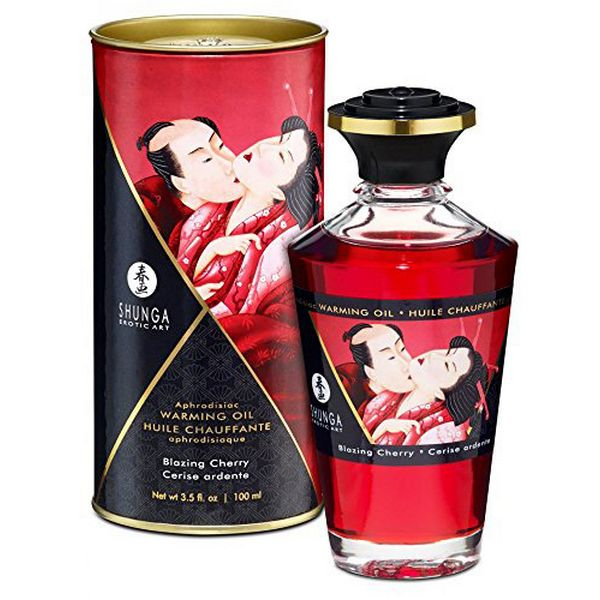 Heat Effect Oil Cherry (100ml) Shunga 22002