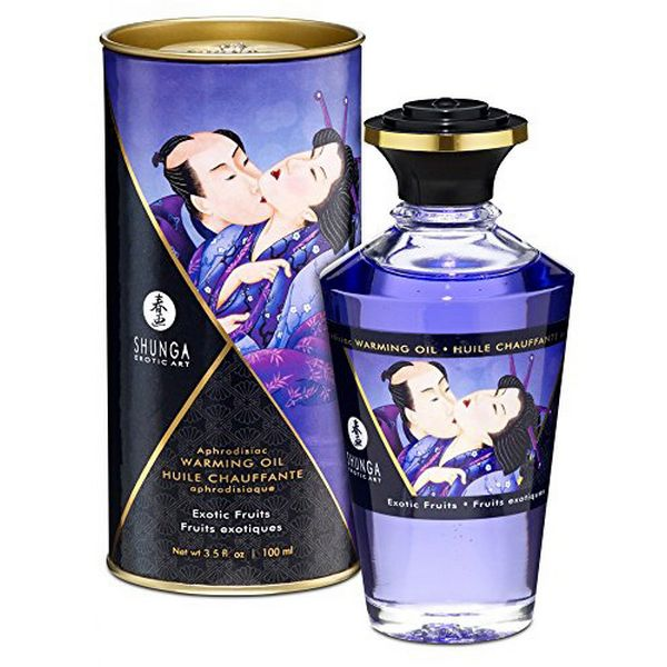 Heat Effect Oil Exotic Fruits (100ml) Shunga 22026