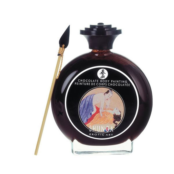 Aphrodisiac Body Paint Shunga SH7000 Chocolate (100 ml)