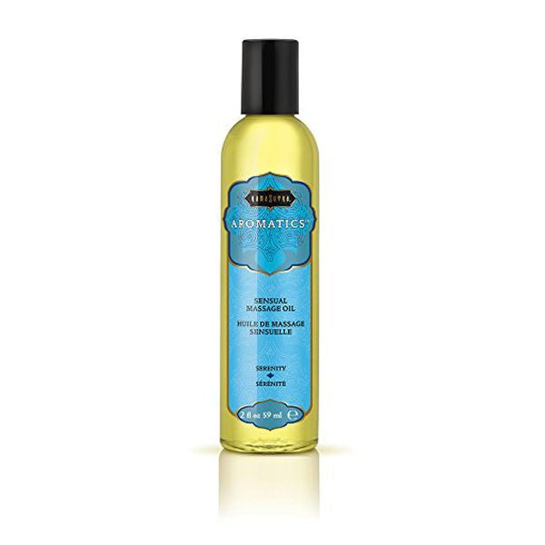 Aromatic Massage Oil Serenity 59 Ml Kama Sutra 2773 - skintantric