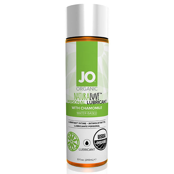 NaturaLove Organic Lubricant 240 ml System Jo 80014 - skintantric