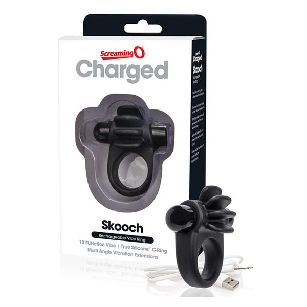 Charged Skooch Ring Black The Screaming O 12723