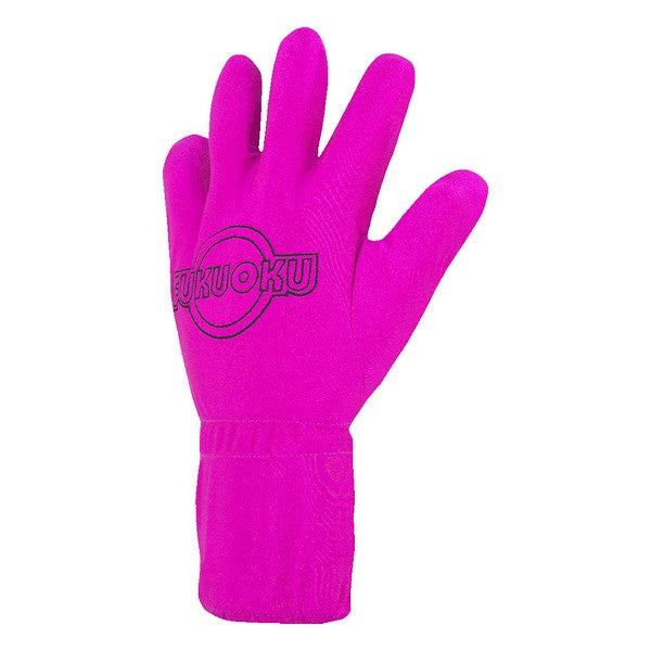 Massage Glove Left S/M Pink Fukuoku
