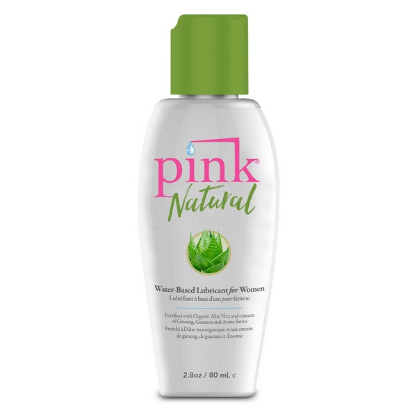 Waterbased Lubricant Natural Pink (80 ml)
