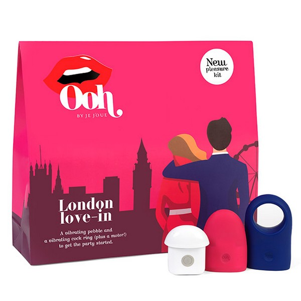 London Large Pleasure Kit Ooh by Je Joue 970706 - skintantric