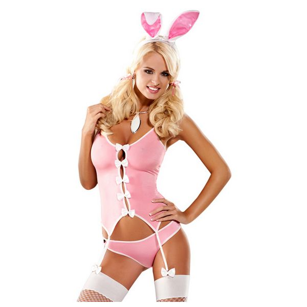 Bunny Suit Costume S/M Obsessive E24001 - skintantric