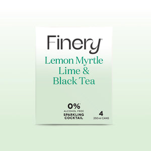 0% Alcohol Free Sparkling Cocktail - Lemon Myrtle Lime & Black Tea