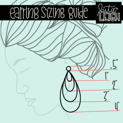 Earring Sizing Guide