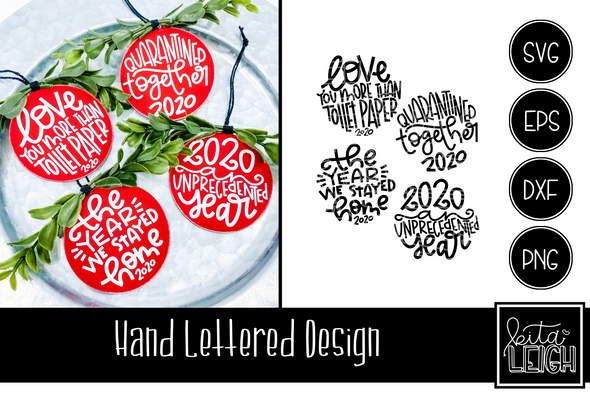 Hand Lettered Christmas 2020 Rounds 2 SVG