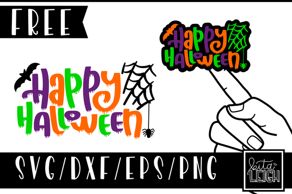 Happy Halloween Free SVG Design
