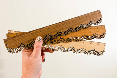 Lace Rulers- Not personalized.