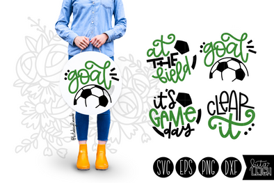 Soccer Hand Lettered Rounds
