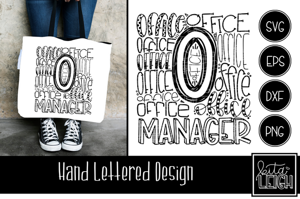 Office Manager Typography