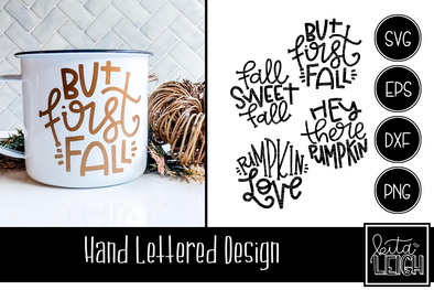 Fall Hand Lettered Rounds