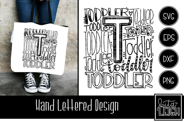 Toddler Typography