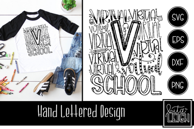 Virtual School Typography
