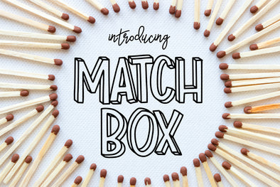 Match Box Matchbox Font
