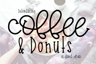 Coffee and Donuts font Duo