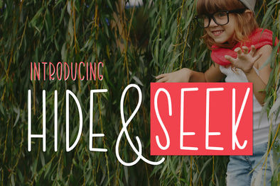 Hide and Seek Font