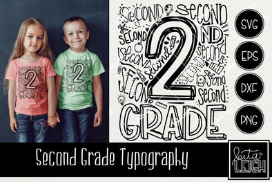 Second Grade Typography