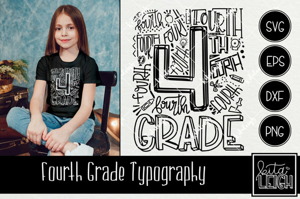 Fourth Grade Typography
