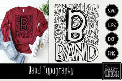 Band Typography