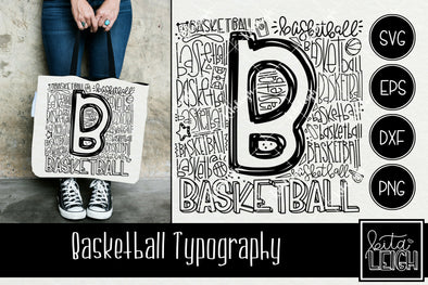 Basketball Typography
